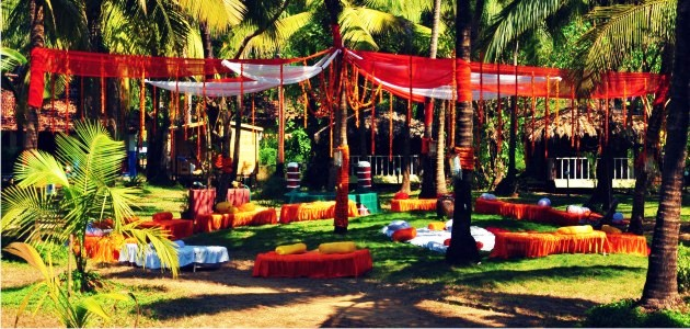 Mehndi Function at The Montego Bay lawns