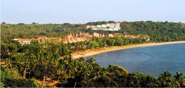 Bird's Eye View of The Grand Hyatt Goa