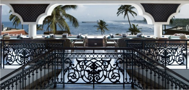 View of the Arabian Sea from The Lobby