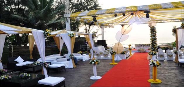 Wedding at Solarium Designer Shack