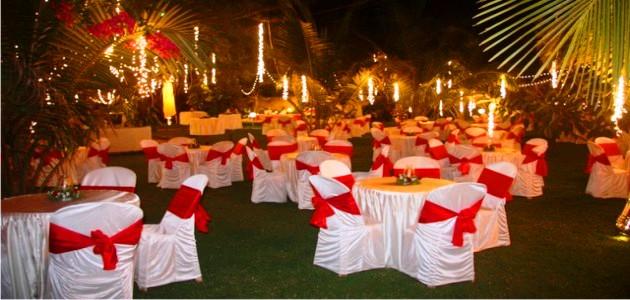 Wedding Reception at Chalston Beach Resort