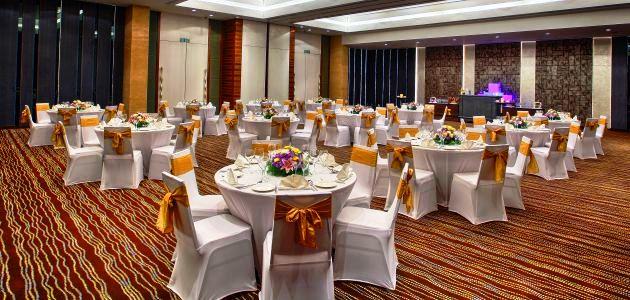 Weddings at The Novotel Banquet Hall