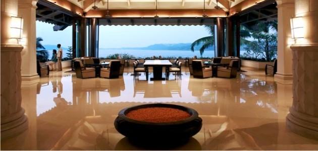 The Lobby at the Goa Marriott Resort