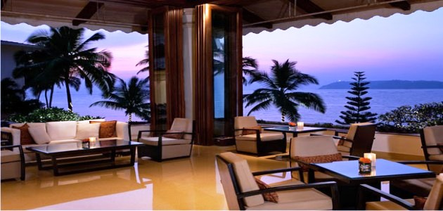View from the Lobby at the Goa Marriott Resort