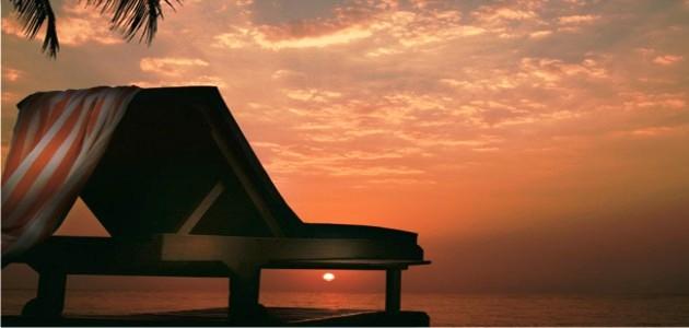 Beautiful Sunsets at Goa Marriott Resort & Spa