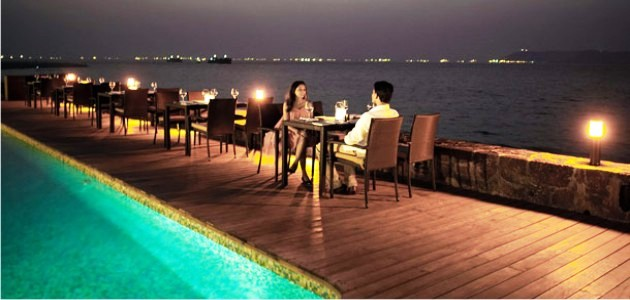 Candlelight Dinners at the Goa Marriott Resort