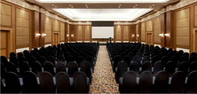 Conference Banquet Hall at the Goa Marriott Resort