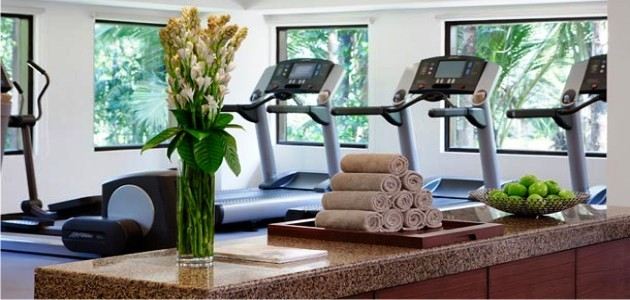 Gym & Spa at the Goa Marriott Resort
