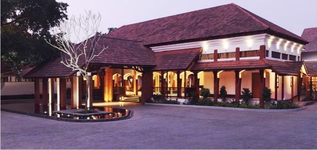 Entrance at The Alila Diwa Goa