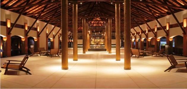 Designer Lobby at the Alila Diwa Goa