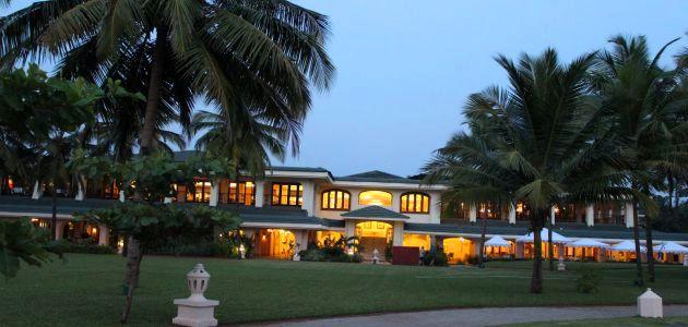 Taj Exotica - Entrance