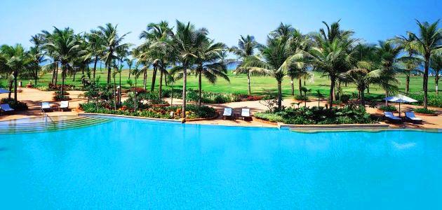 Taj Exotica - Pool 1