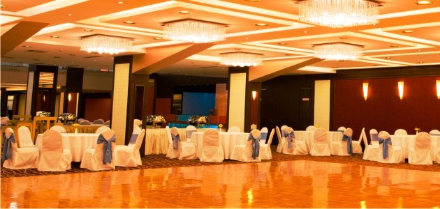 Wooden Dancefloor at the Golden Orchid Banquet Hall