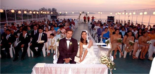 Wedding Ceremony aboard M.V.Paradise II
