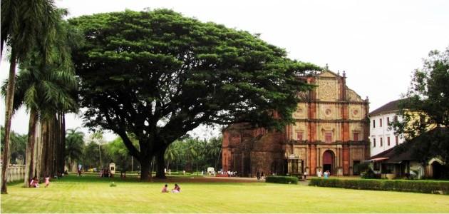 The Basilica of Bom Jesus