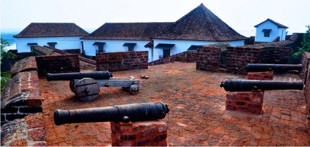 Canons to the East of The Fort