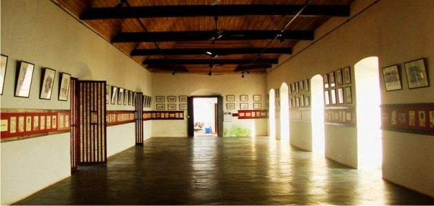 Exhibition hall at the Fort